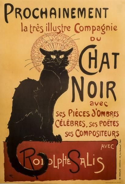 Tournée Du Chat Noir - Poster