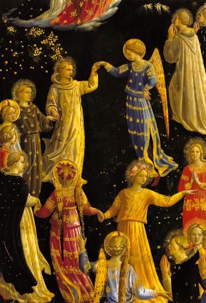 Fra Angelico: Das jüngste Gericht - Weihnachtskarte