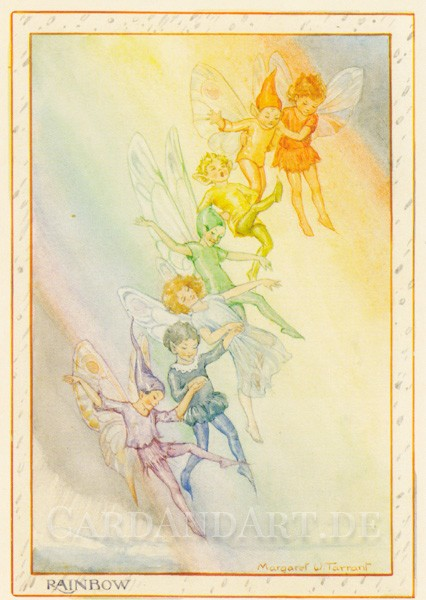 Tarrant Margaret: Rainbow Fairies - Postkarte