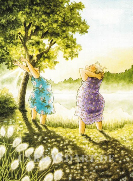 Inge Löök: Gruß an die Sonne - Postkarte Nr. 63