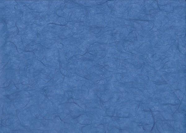 Maulbeerseide königsblau - Geschenkpapier