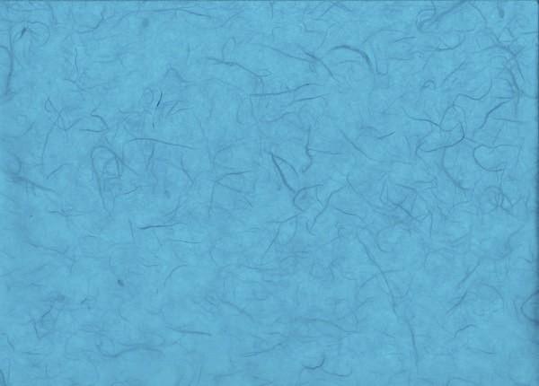Maulbeerseide türkis - Geschenkpapier