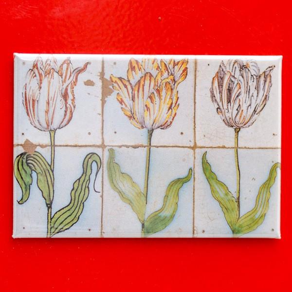 Tulpen - Majolika - Magnet