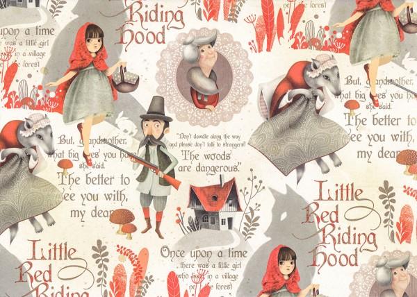 Rotkäppchen - Geschenkpapier