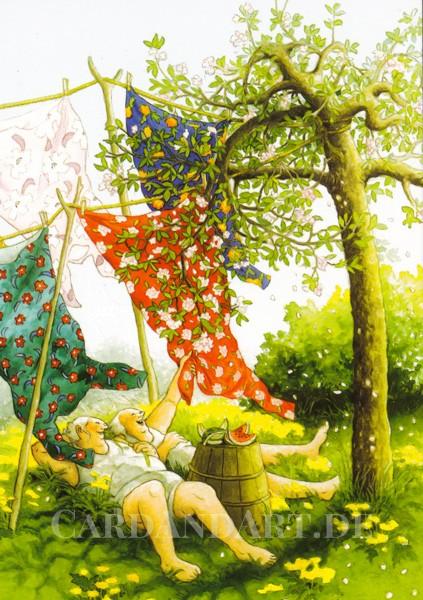 Inge Löök: Frühlingsgefühle - Postkarte Nr. 48