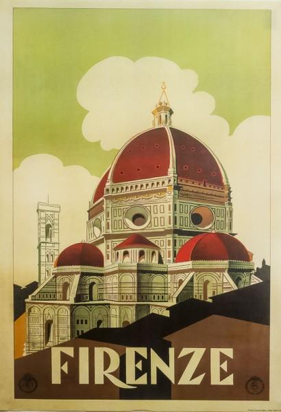 Firenze Cupola - Poster