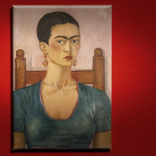Frida Kahlo, Selbstbildnis 1930 - Magnet