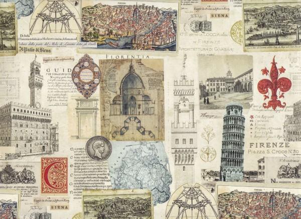 Italia Antiqua - Geschenkpapier