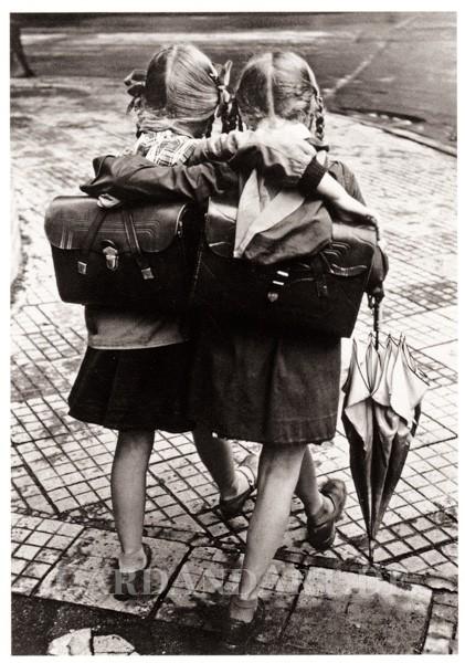 Schulfreundinnen - Postkarte