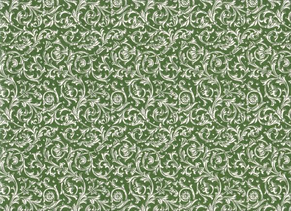 Ranken grün - Carta Varese Papier