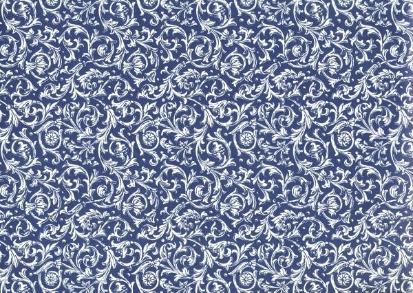 Ranken blau - Carta Varese Papier