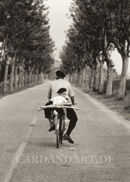 Baguette Transport - Postkarte