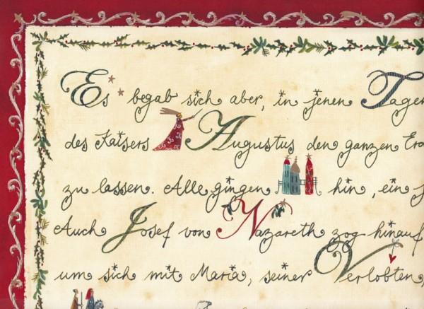 Es begab sich aber... - Weihnachtspapier