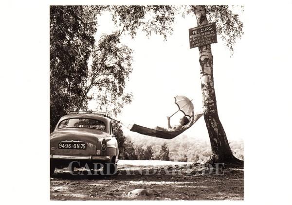 Doisneau, Robert: Paulette Dubost - Postkarte