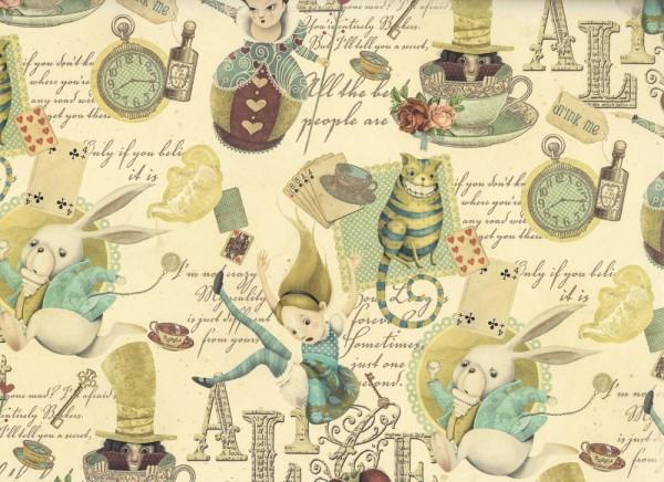 Alice im Wunderland - Geschenkpapier
