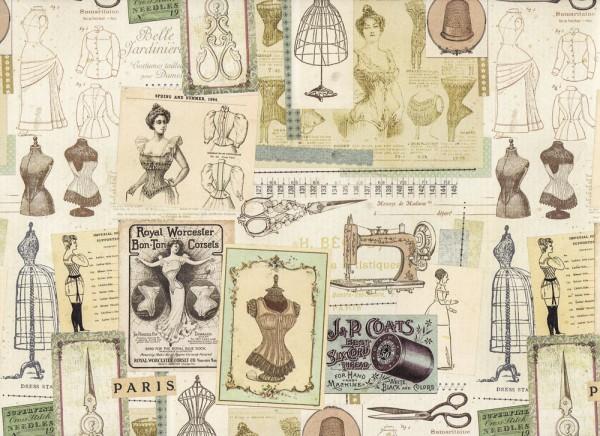 Corsets et Bustiers - Geschenkpapier
