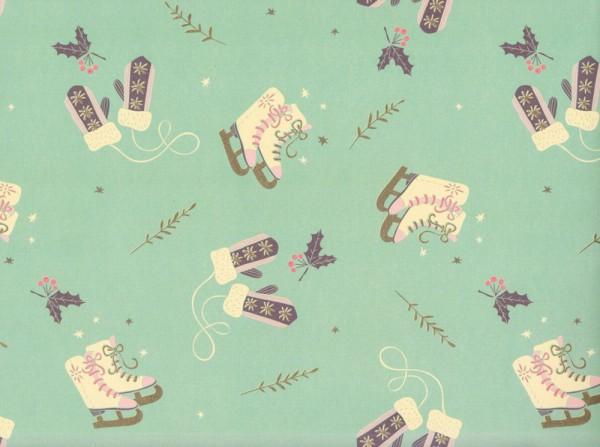 Frosty Joy - Geschenkpapier Weihnachten aus Italien