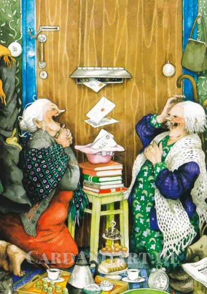 Inge Löök: Die Post ist da - Postkarte Nr. 23