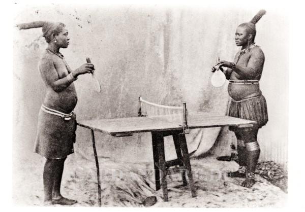 Ping Pong - Postkarte