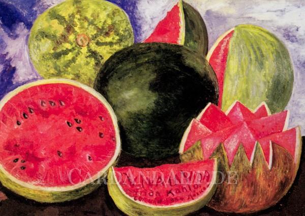 Kahlo, Frida: Viva la Vida - Postkarte