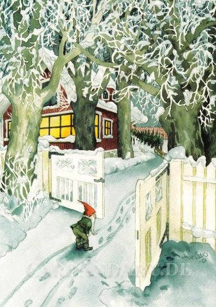 """Inge Löök: Weihnachtliche Spurensuche - Postkarte Nr. 213 """"NEU"""""""