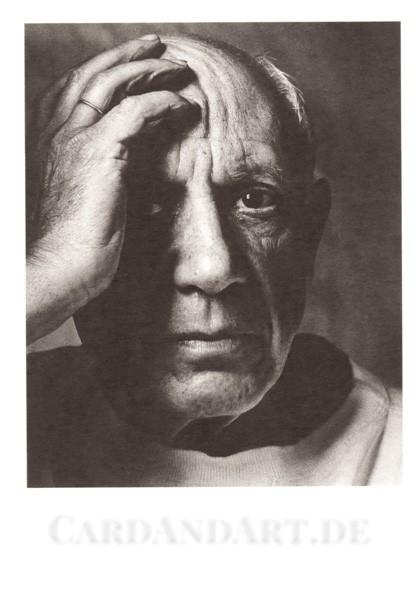 Picasso Pablo: Photographie 1954 - Postkarte