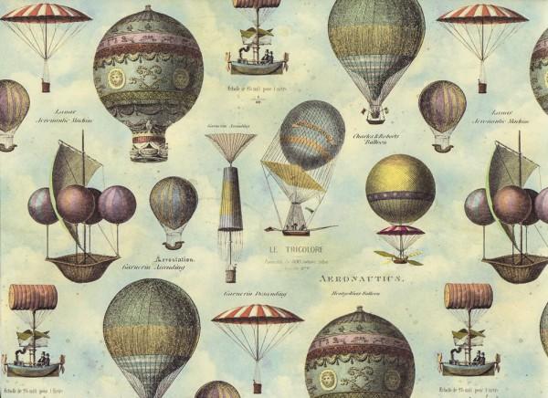 Montgolfiere - Geschenkpapier