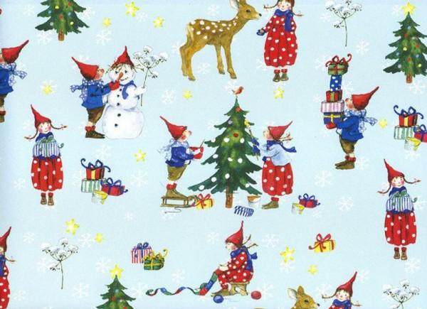 Weihnachten mit Pippa und Pelle - Weihnachtspapier
