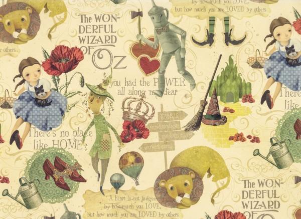 Zauberer von Oz - Geschenkpapier