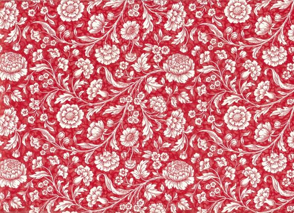 Wiesenblumen rot - Carta Varese