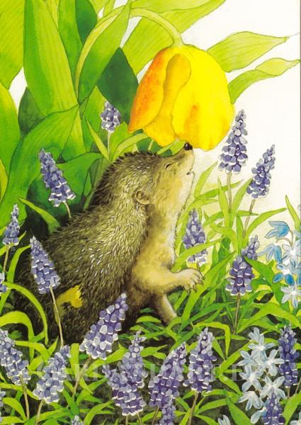 Inge Löök: So riecht der Frühling - Postkarte Nr. 117