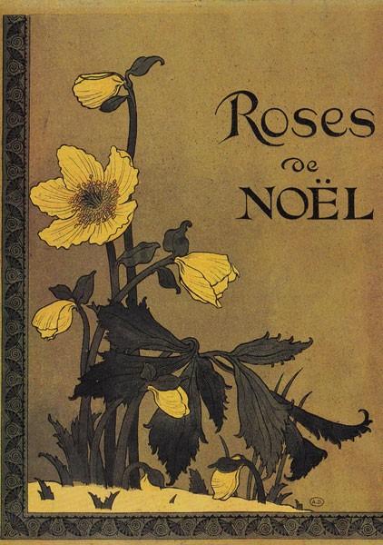 Grasset Eugène, Christrosen 1892 - Postkarte