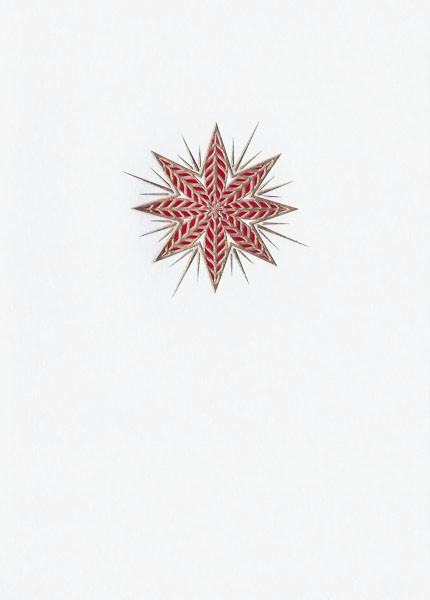 Red Star - Weihnachtskarte