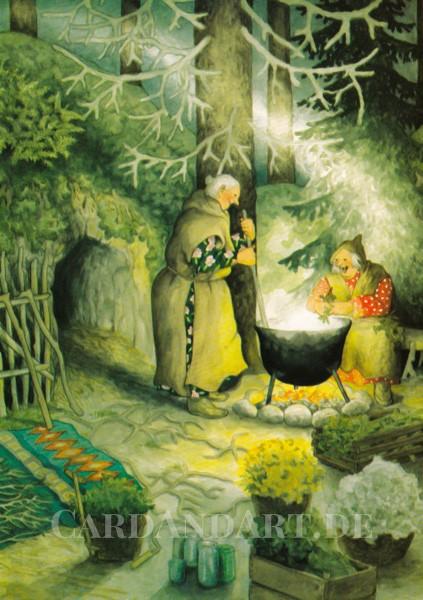 Inge Löök: Wintersuppe Postkarte Nr. 57