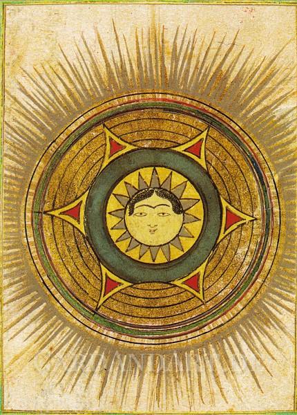 The Sun - Postkarte