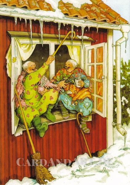 Inge Löök: Tauwetter - Postkarte Nr. 73