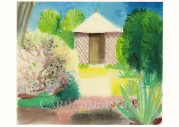 Moilliet - Pavillon im Garten von Dr. Jäggi - Postkarte