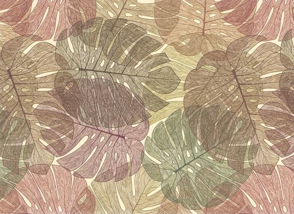 Philodendron - Geschenkpapier Italien