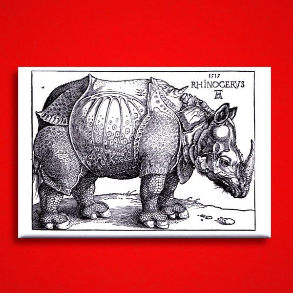 Dürer, Albrecht: Rhinocerus, Magnet