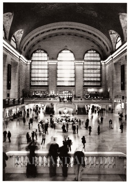 Venzl, Maike: New York City, Grand Central Station - Postkarte