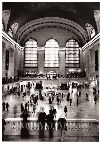 Venzl, Maike: New York City, Grand Central Station - Postkarte