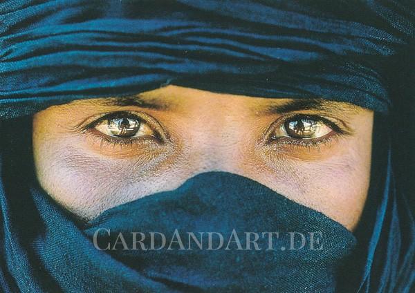 Tuareg - Postkarte