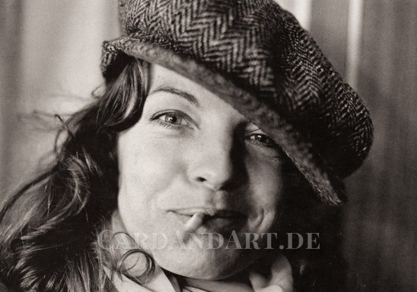 Romy Schneider, Berlin 1976 - Postkarte