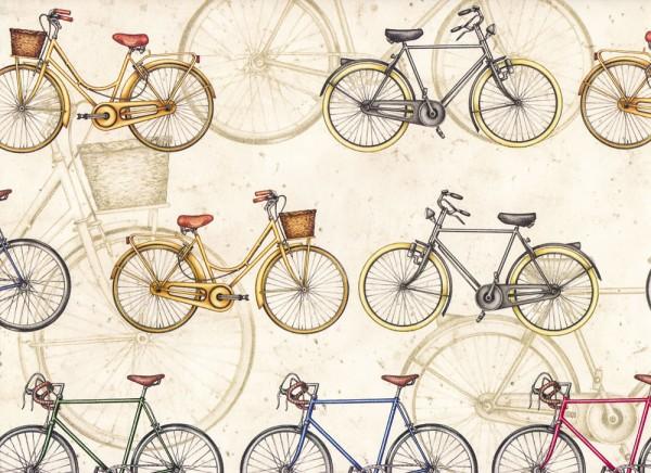 Fahrräder - Carta Varese Papier