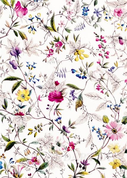 Kilburn William: Textildesign - Postkarte