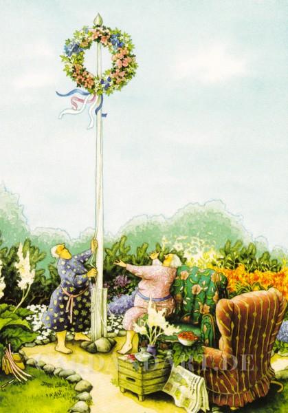 Inge Löök: Mittsommerfest - Postkarte Nr. 46