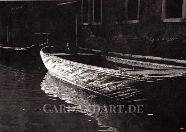 Kanal in Venedig - Postkarte