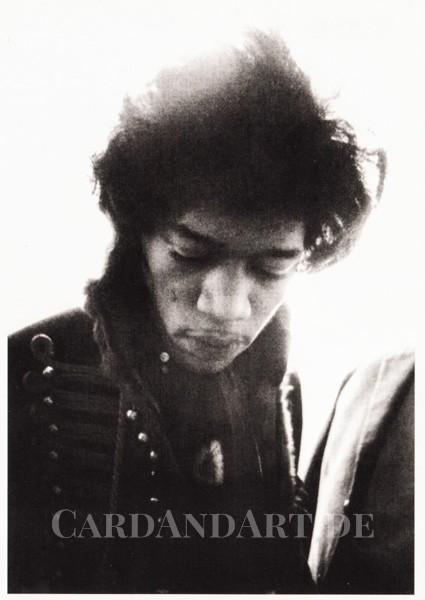 Jimi Hendrix, Paris 1967 - Postkarte
