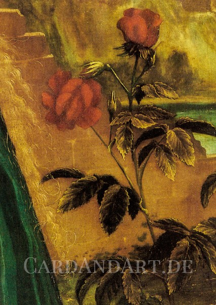 Grünewald, Matthias: Die Rose - Postkarte