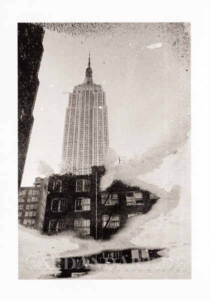 Kertesz, André, New York im Schnee - Postkarte